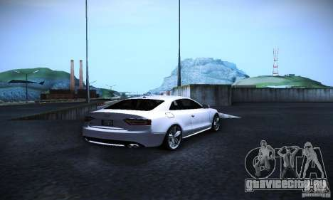 Audi S5 для GTA San Andreas вид справа