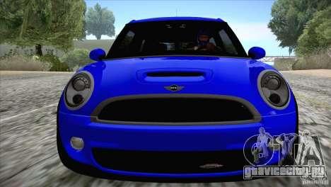 MINI Cooper Clubman JCW 2011 для GTA San Andreas вид сзади