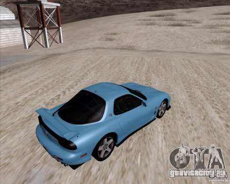 Mazda RX7 2002 FD3S SPIRIT-R (Type RS) для GTA San Andreas вид справа