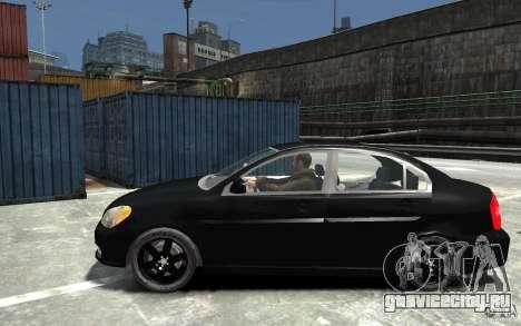 Hyundai Accent 2006 для GTA 4 вид слева