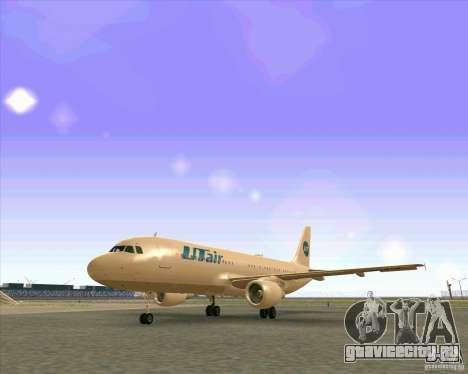 Airbus A-320 авиакомпании UTair для GTA San Andreas