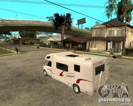 Chevrolet Camper для GTA San Andreas вид слева