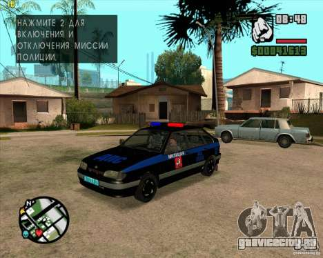 ВАЗ 2114 ДПС тюнинг для GTA San Andreas