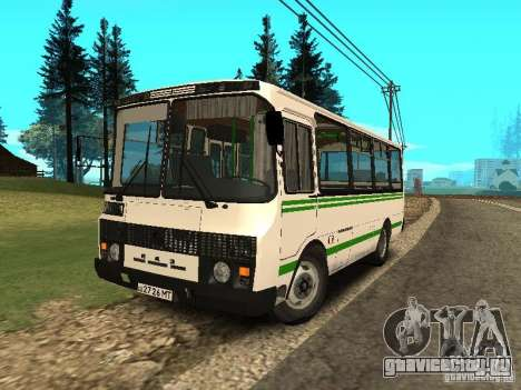 ПАЗ 32053 для GTA San Andreas