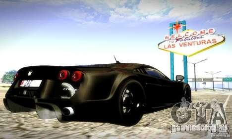 Noble M600 Final для GTA San Andreas вид сбоку