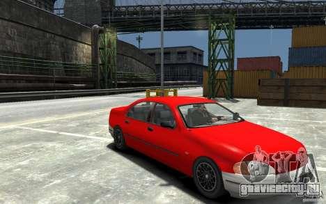 Kuruma из GTA 3 для GTA 4 вид сзади