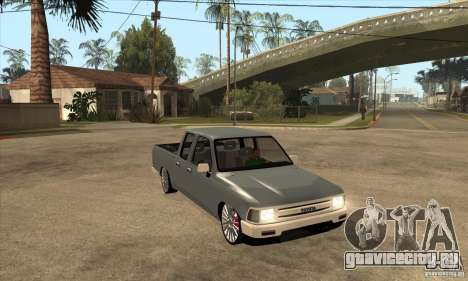 Toyota Hilux 1990 для GTA San Andreas вид сзади