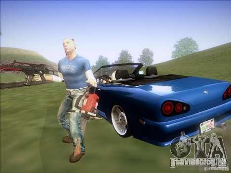 Elegy Cabrio Edition для GTA San Andreas вид справа