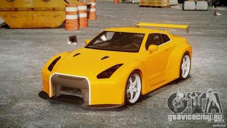 Nissan Skyline R35 GTR для GTA 4