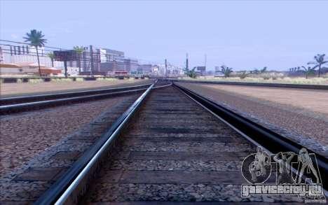 Русская ЖД модификация v1.0 для GTA San Andreas второй скриншот