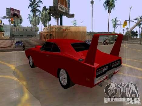 Dodge Charger Daytona 440 для GTA San Andreas вид слева