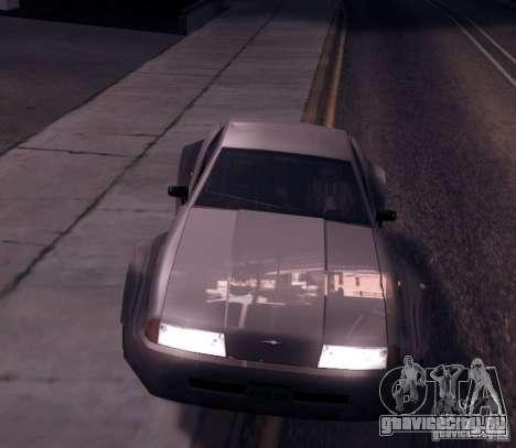 Elegy Wide Body для GTA San Andreas вид слева