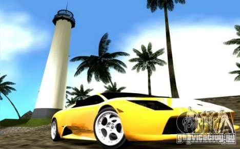 2005 Lamborghini Murcielago для GTA Vice City вид справа