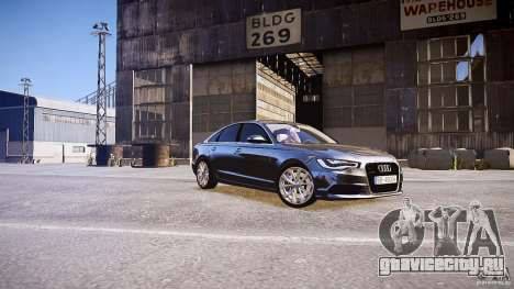 Audi A6 v1.0 для GTA 4 вид слева