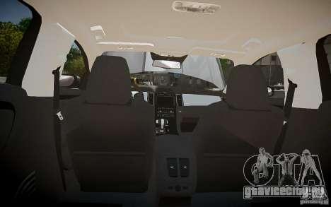 Ford Taurus SHO 2010 для GTA 4 салон