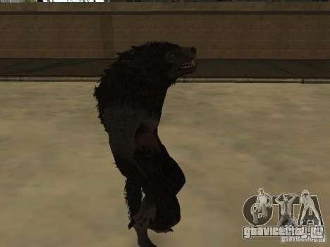 Werewolf from The Elder Scrolls 5 для GTA San Andreas второй скриншот