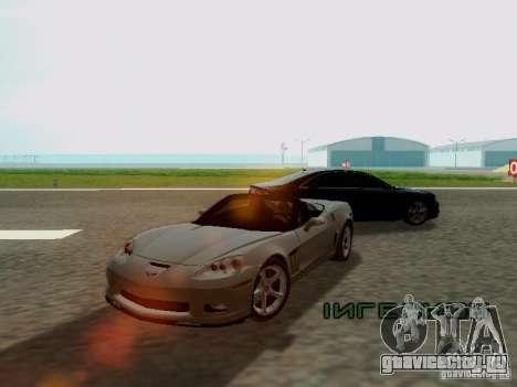 Chevrolet Corvette C6 GS Convertible 2012 для GTA San Andreas вид слева
