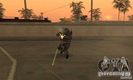 Солдат из CoD MW для GTA San Andreas третий скриншот