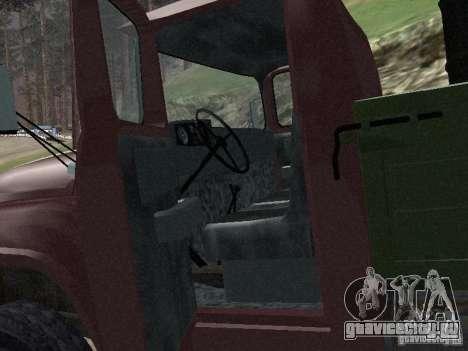 ЗиЛ 130 Бортовой для GTA San Andreas вид сзади