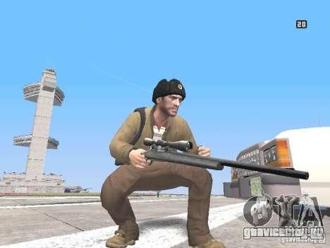 HQ Weapons pack V2.0 для GTA San Andreas пятый скриншот