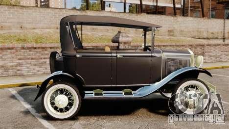 Ford Model T 1924 для GTA 4 вид слева