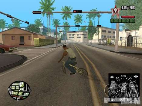 Новый спидометр для GTA San Andreas пятый скриншот