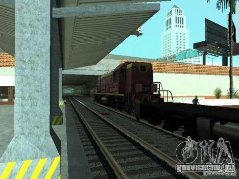 ТЭМ2У-915 для GTA San Andreas вид справа