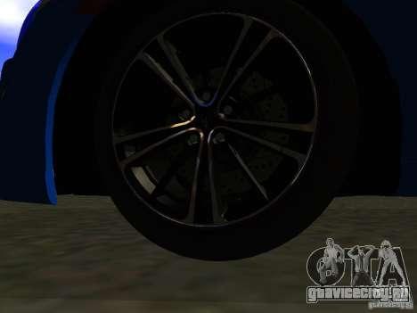 Toyota GT86 Limited для GTA San Andreas салон