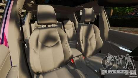 Peugeot 308 2007 для GTA 4 вид изнутри