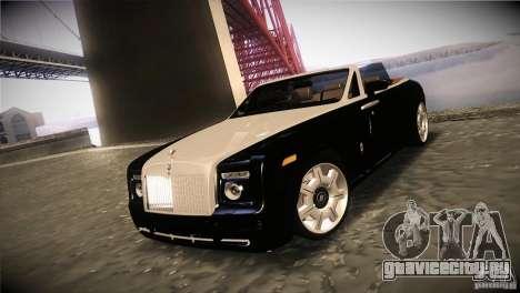 Rolls Royce Phantom Drophead Coupe 2007 V1.0 для GTA San Andreas