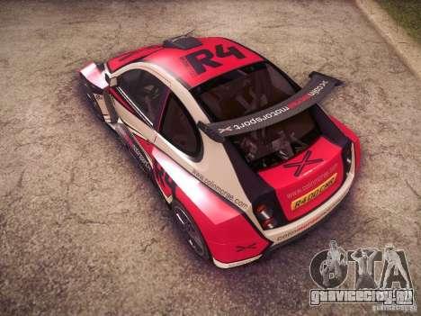 Colin McRae R4 для GTA San Andreas вид сверху