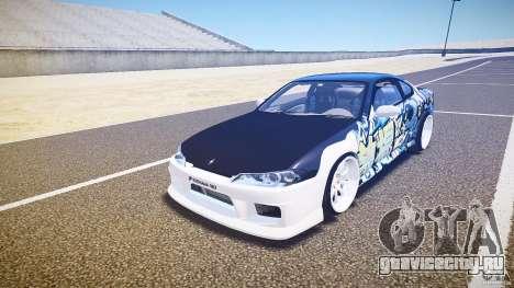 Nissan Silvia S15 Drift v1.1 для GTA 4 вид слева
