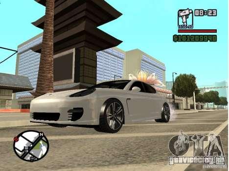 Porshe Panamera для GTA San Andreas