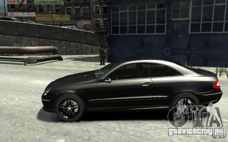 Mercedes-Benz CLK55 AMG 2003 v1 для GTA 4 вид слева