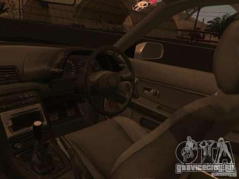 Nissan Skyline GTS R32 JDM для GTA San Andreas вид снизу