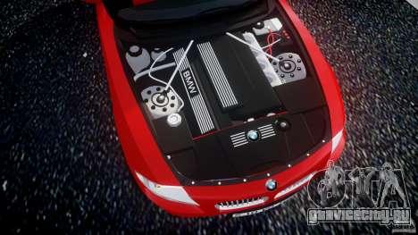 BMW Z4 Roadster 2007 i3.0 Final для GTA 4 вид сзади