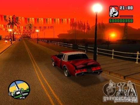 Timecyc BETA 2.0 для GTA San Andreas третий скриншот