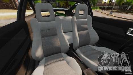 Honda CRX 1991 для GTA 4 вид изнутри