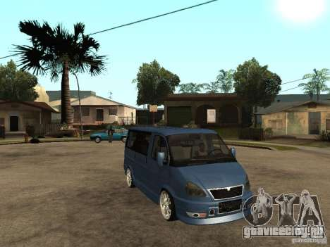 ГАЗ-2217 Соболь-Баргузин для GTA San Andreas вид справа
