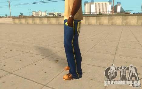 Karl Kan Puzzle Jeans для GTA San Andreas второй скриншот