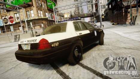 Ford Crown Victoria Fl Highway Patrol Units ELS для GTA 4 вид сверху