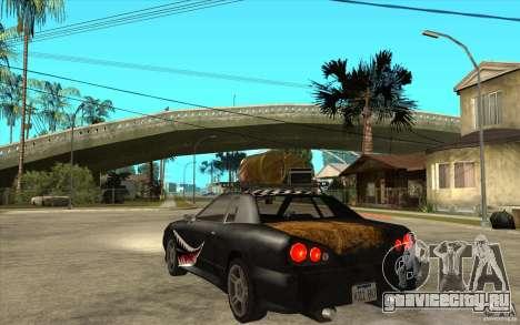 Elegy Rost Style для GTA San Andreas вид сзади слева