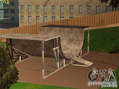 New SkatePark v2 для GTA San Andreas третий скриншот