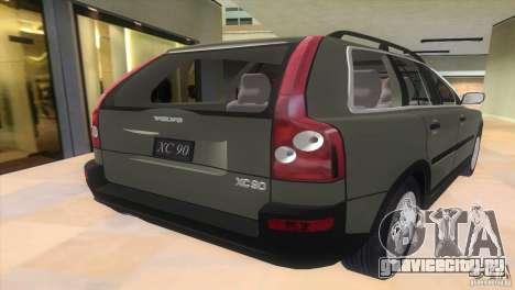 Volvo XC90 для GTA Vice City вид слева