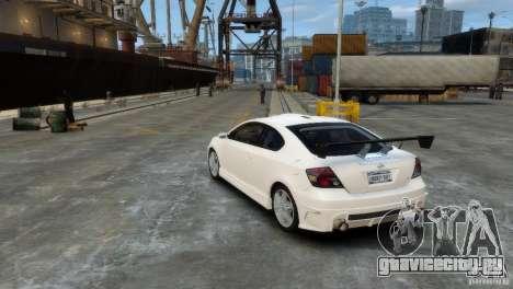 Toyota Scion для GTA 4 вид справа