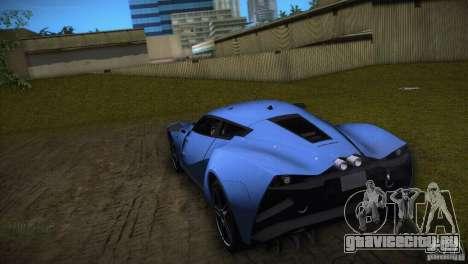 Marussia B2 2010 для GTA Vice City вид справа