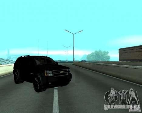 Chevrolet Tahoe BLACK EDITION для GTA San Andreas вид справа
