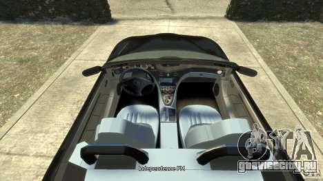Maserati Spyder Cambiocorsa для GTA 4 вид справа