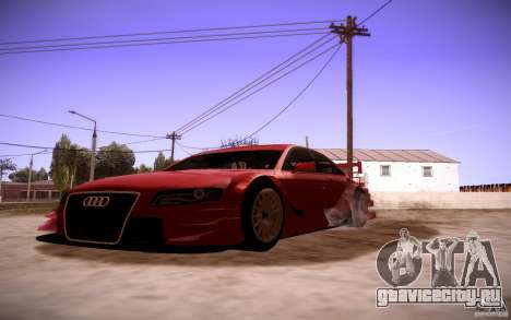 Audi A4 DTM для GTA San Andreas