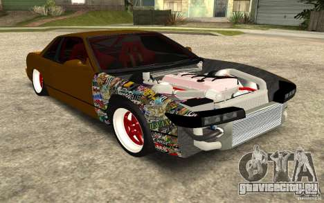 Nissan Silvia S13 Crash Construction для GTA San Andreas